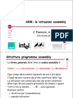Istruzioni assembly di architetture ARM