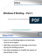Windows 8 Binding