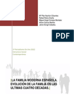 La familia moderna española