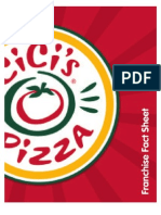 Cici's Pizza Buffet Fact Sheet