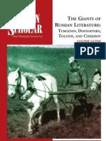 84309839 Giants of Russian Literature Turgenev Dostoevsky Tolstoy and Chekhov