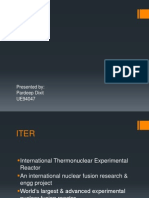 INTERNATIONAL THERMAL NUCLEAR EXPERIMENTAL