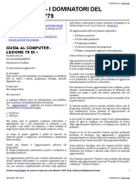 Guida al Computer - Lezione 79 - Gli Aggiornamenti