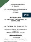 hydrologie et probabilités