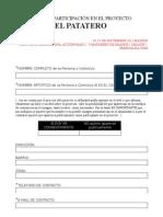 DocumentodeParticipación_25nMADRID_ELPATATERO.doc