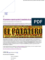 El Patatero Reparte Gratis 2 Toneladas de Patatas1