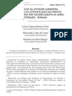 Contribuição da atividade garimpeira diamantífera na intensificação das frentes erosivas lineares por voçorocamento na serra Tepequém – Roraima