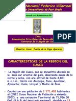Lineamientos de desarrollo economico Territorial de la Region del Cusco  - 2012