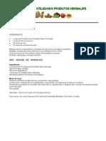 Ultilização de produtos da Herbalife