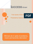 19272047 the Success Story
