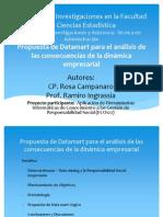 Propuesta de Datamart para el análisis de las consecuencias de la dinámica empresarial