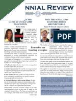 Centennial Review Jan 2013