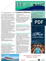 Cruise Weekly for Thu 20 Dec 2012 - Viking expands Burma, Cyclone Evan, APT record famils, Costa Pacifica and much more...