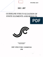 GUIDELINE FOR EVALUATION OF FINITE ELEMENTS AND RESULTS