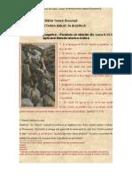 Tema Exegeză Parabola oii ratacite Luca C15,1