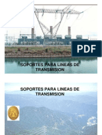 SOPORTES PARA LINEAS DE TRANSMISION