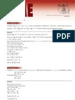 Prova Resolvida Matematica IME2013