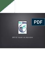 fem dems 2012 annual report