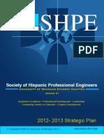 SHPE|UMICH 2012 Strategic Plan