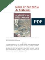 Los Tratados de Paz Por La Guerra de Malvinas
