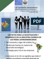 La I+D en El Contexto Venezolano