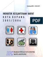 Indikator-Kesra Kota Kupang 2005-2006