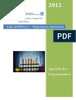 Apostila laboratório quimica I , Engenharia Ambiental UFMS