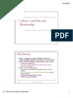 21-Caesar Civil War and Dictatorship[1]
