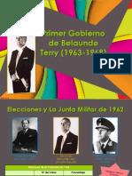 1ER GOBIERNO DE BELAUNDE TERRY