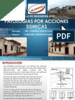 Patologias Po Acciones Sismicas
