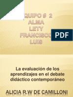 ALICIA R.w. Camilloni Lectura 14.-1