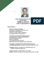 Dr. Wassef CV