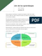 Evaluacion de Los Aprendizaje Medina y Pimienta Lectura 13 y 15
