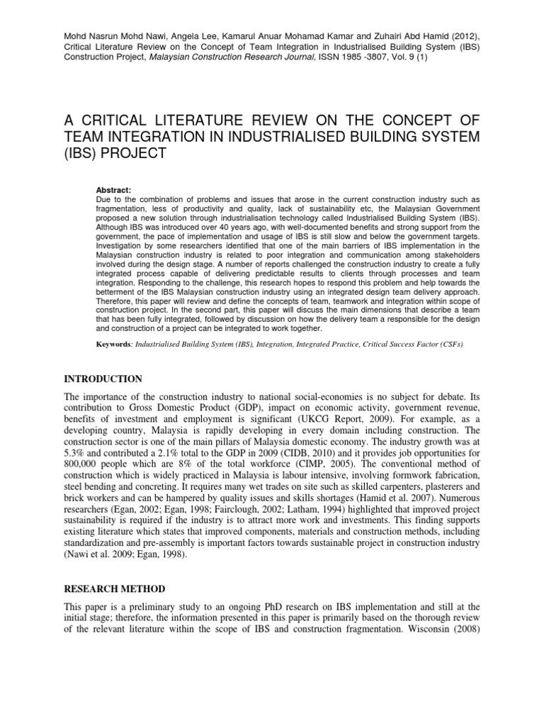 narrative review methodology