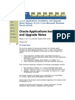 Oracle E-Business Suite Installation on Windows server 2003