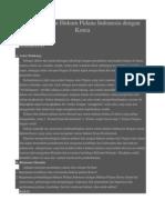 Perbandingan Indo Korea