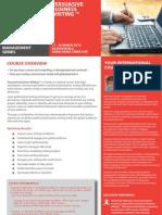 Persuasive Business Writing 17-18 March 2013 Dubai