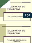 Evaluacion Financiacion de proyectos