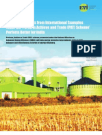 A Discussion Paper on India's Perform Achieve and Trade (PAT) Scheme
