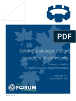 Building a Strategic Design Capacity by Don Lenihan