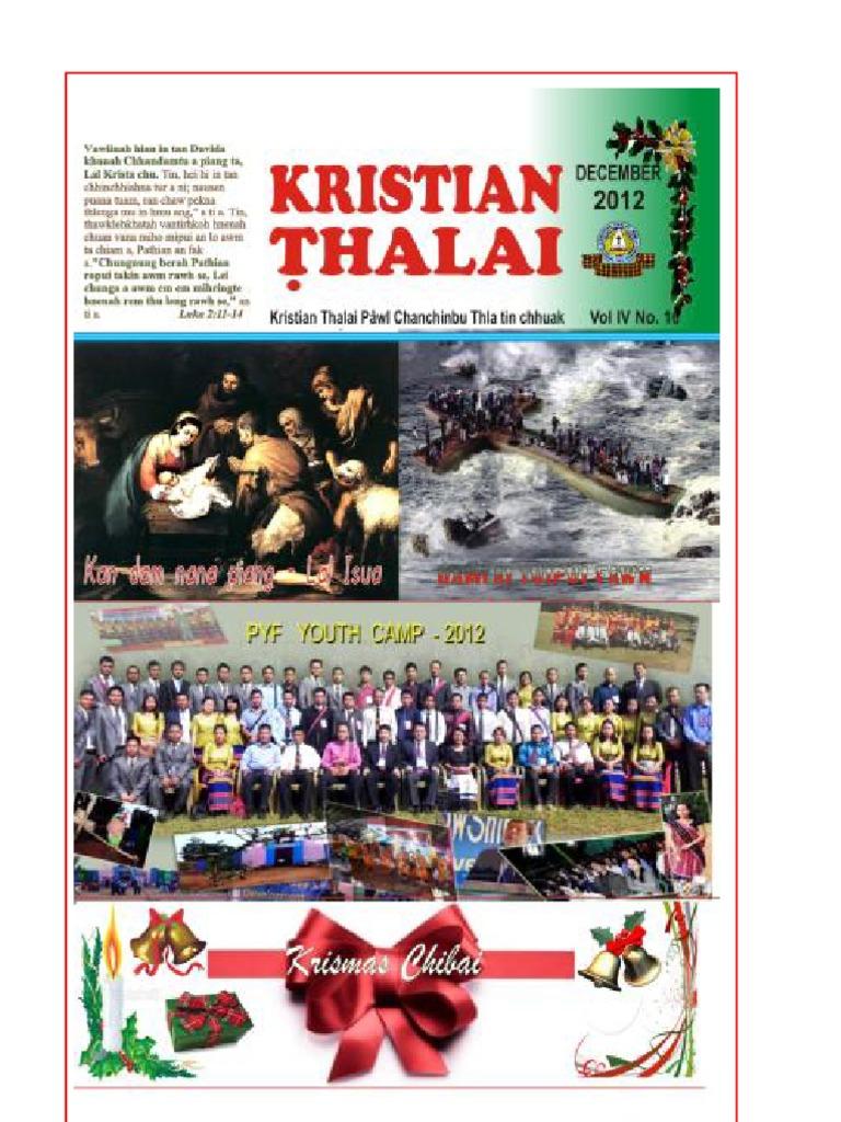 Kristian Thalai - December, 2012