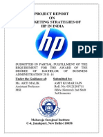 Minor Project Report on Hp