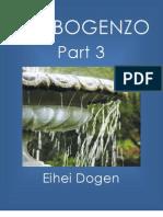 Shobogenzo Part 3