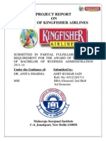 Minor Project Report on Kingfisher-Airlines