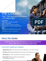 Conquer the Cloud | Part 1 - The Cloud and Your Network Is, There a Gap
