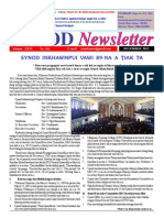 Synod Newsletter - December, 2012