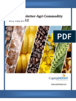 Daily AgriCommodity Newsletter 20-12-2012