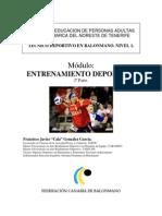 Cala Entrenamiento Deportivo II