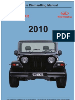 Thar Vehicle Dismantling Manual
