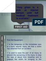 t7 First Aid
